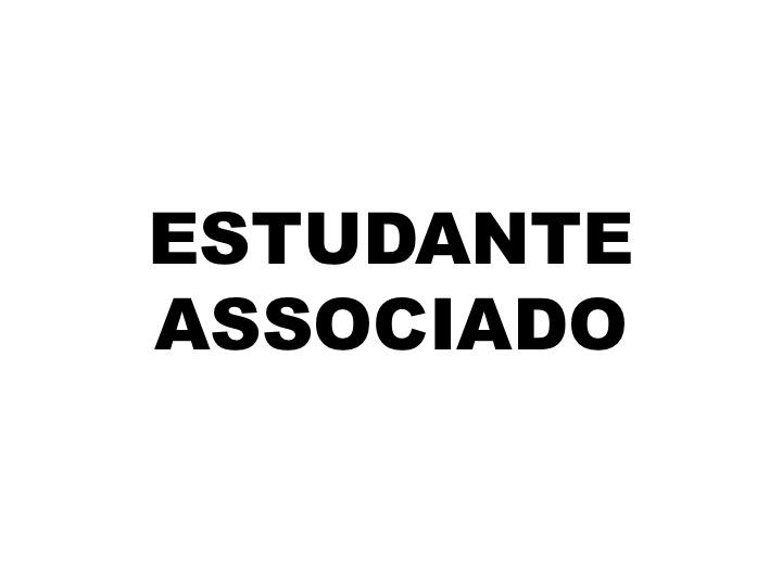 Estudante associado