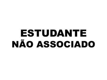 Estudante não associado